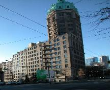 Exterior view of Sun Tower, 2004; City of Vancouver 2004