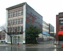 Exterior view of the Vancouver Gas Company Warehouse; City of Vancouver, 2004