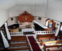 Interior view of St. Michael's of Archangels Roman Catholic Church, Meleb, 2006; Historic Resources Branch, Manitoba Culture, Heritage and Tourism, 2006