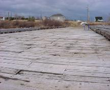 View of the wharf - photo taken from the end of the wharf; Memramcook Valley Historical Society Inc.
