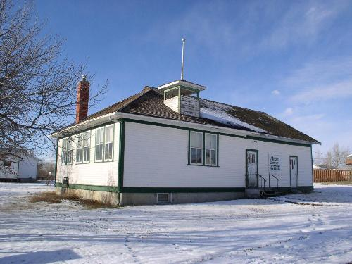 Front elevation of Milden Community Museum, 2003.