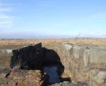 Remains of Fort Lawrence Terminus, Fort Lawrence, Nova Scotia, 2006. ; Heritage Division, NS Dept. of Tourism, Culture and Heritage, 2006.