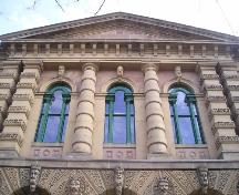 Old Halifax Court House, detail of palladian windows, 2004; Heritage Division, Nova Scotia Department of Tourism Culture and Heritage, 2004