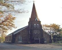 Front elevation, St. George's Church, Sydney, NS, 2004.; Heritage Division, NS Dept. of Tourism, Culture and Heritage, 2004.