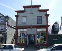 This photograph shows the contextual view of the building, 2007; Town of St. Andrews