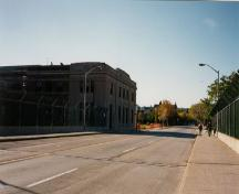 General view of Former Hamilton Railway Station, showing side elevation, 1999.; Parks Canada Agency/Agence Parcs Canada, J. Hucker, 1999.