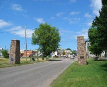 looking north from Russ Ramsay Way; City of Sault Ste. Marie