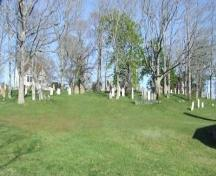 Old Kirk Burying Ground, Trinity United Church, Shelburne, Nova Scotia, 2007. ; Heritage Division, NS Dept. of Tourism, Culture and Heritage, 2007.