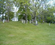 General view, Old Kirk Burying Ground, Shelburne, 2004.; Heritage Division, NS Dept. of Tourism, Culture and Heritage, 2004