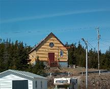 Exterior photo view of the Orange Hall, Band of Hope LOL 1402, Main Street, Elliston, NL, circa 2006; Tourism Elliston Inc., 2007