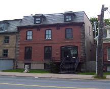 Side elevation, St. Matthew's Manse, Halifax, NS, 2007; Heritage Division, NS Dept. of Tourism, Culture and Heritage, 2007