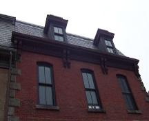 Cornice detail, St. Matthew's Manse, Halifax, NS, 2007; Heritage Division, NS Dept. of Tourism, Culture and Heritage, 2007