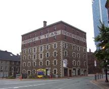 Front elevation, Morse's Teas, Halifax, NS, 2007; Heritage Division, NS Dept. of Tourism, Culture and Heritage, 2007