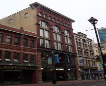 Front elevation, Nova Scotia Furnishings, Halifax, NS, 2007; Heritage Division, NS Dept. of Tourism, Culture and Heritage, 2007
