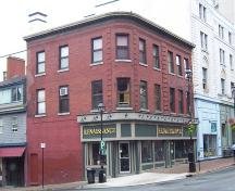 Side elevation, W. M. Brown Building, Halifax, NS, 2007; Heritage Division, NS Dept. of Tourism, Culture and Heritage, 2007