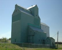 Alberta Wheat Pool Elevator, Mayerthorpe (May 2005); Alberta Culture and Community Spirit, Historic Resources Management Branch, 2005