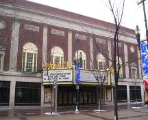 Palace Theatre, Calgary (March 2006); Alberta Culture and Community Spirit, Historic Resources Management Branch, 2006