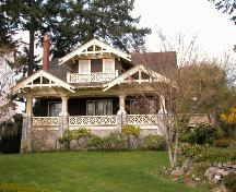 Exterior view of Captain Walker Residence.; Derek Trachsel, District of Saanich, 2004.