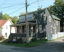 Southwest corner of 24 St. James Street, Annapolis Royal, Nova Scotia, 2007.; Heritage Division, NS Dept. of Tourism, Culture and Heritage, 2007