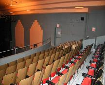 Interior view of the Roxy Theatre, Neepawa, 2006; Heritage Resources Branch, Manitoba Culture, Heritage and Tourism, 2006