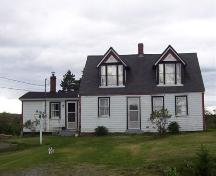 Front elevation, 782 East Chezzetcook Road, Halifax, NS, 2007; Heritage Division, NS Dept. of Tourism, Culture and Heritage, 2007