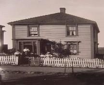 Boehner House, New Town Lunenburg, front façade, ca. 1900; Courtesy of the Fisheries Museum of the Atlantic
