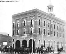 Lethbridge Fire Hall No. 1 (circa 1912); Glenbow Archives, NA-4225-10