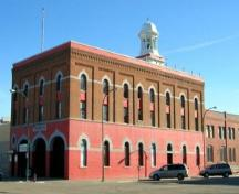 Lethbridge Fire Hall No. 1 (April 2004); Alberta Culture and Community Spirit, Historic Resources Management, 2004