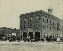 Lethbridge Fire Hall No. 1 (circa 1914); City of Lethbridge Archives, circa 1914