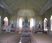 Interior of Church.; Government of Saskatchewan, Brett Quiring, 2006.
