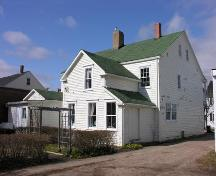 Rear Perspective, James House, Bridgetown, 2005; Heritage Division, Nova Scotia Department of Tourism, Culture  and Heritage, 2005