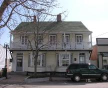 Front Elevation, James House, Bridgetown, 2005; Heritage Division, Nova Scotia Department of Tourism, Culture and Heritage, 2005