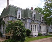 John O'Brien House, side perspective, 2004; Heritage Division, NS Dept. of Tourism, Culture and Heritage, 2004