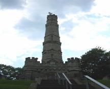 View of the monument's north elevation; OHT, 2006