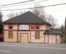 Exterior view of the Royal Oak Community Hall.; Derek  Trachsel, District of Saanich, 2004.