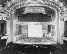 Inside view of the Capitol Theater, 1903.; Fonds Chênevert, Laval University/ Fonds Chênevert, Université Laval, 1903.