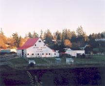 Exterior view of the High Oaks Farm.; District of Saanich, 2004.