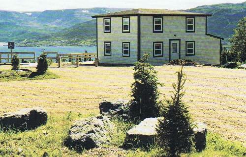 Exterior view, Jenniex House, Norris Point, NL