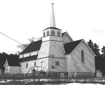 St. Andrew's Anglican Church, Brooklyn, side facade.; HFNL 2004