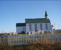 Photo view of St. Joseph's Roman Catholic Cemetery and Church and Parish House, 2007/09/13; Courtesy of Town of Bonavista, 2007