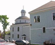 Church Hall and Church, St. George's Church, Halifax, 2005.; Heritage Division, NS Dept. of Tourism, Culture and Heritage, 2005.