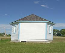 West elevation of Peace Lutheran Church, Chatfield, 2006; Historic Resources Branch, Manitoba Culture, Heritage and Tourism, 2006