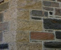 Wall detail of the Balfour House, Warren area, 2006; Historic Resources Branch, Manitoba Culture, Heritage and Tourism, 2006