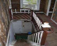 Interior staircase of the William (Billy) Wheeler House, Keels, NL, 2005; Peggy Bulger/HFNL 2006