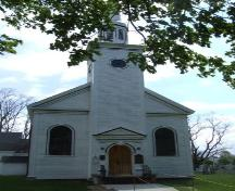 Front elevation, St. Mary's Anglican Church, Auburn, Nova Scotia, 2007.; Heritage Division, NS Dept. of Tourism, Culture and Heritage, 2007.