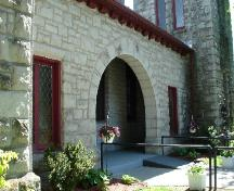 Entrance detail; Rideau Heritage Initiative 2006