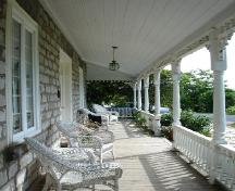 View of porch; Rideau Heritage Initiative 2006