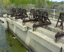 Magrath Canal, Magrath (May 2006); Alberta Culture and Community Spirit, Historic Resources Management, 2006