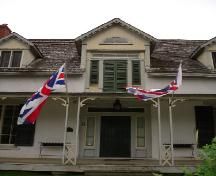 front entrance; Rideau Heritage Initiative 2006