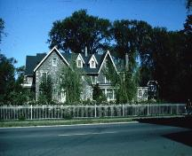 Built for a lumber magnate in 1871, it was once home to Sir John A. and Lady MacDonald; City of Ottawa 2005